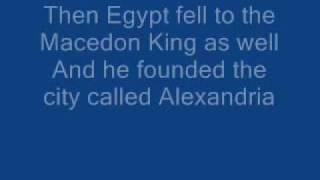 Iron Maiden - Alexander The Great [ WITH LYRICS ]