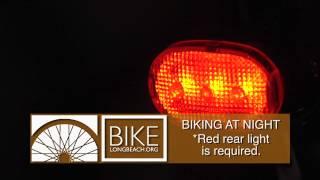 PSA Biking at Night