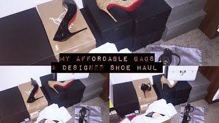 My Affordable Bag & designer Shoe Haul | Giuseppe Zanotti | Christian Louboutin and many more