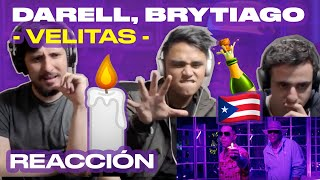 [Reacción] Darell, Brytiago - Velitas (Official Video) - ANYMAL LIVE 🔴