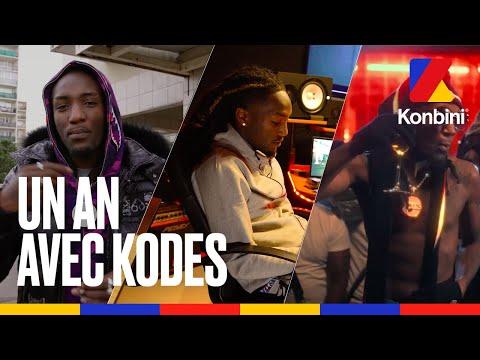 Youtube: Un an avec Kodes: de la conception à la sortie de l'album«Avoir & être» l À domicile l Konbini