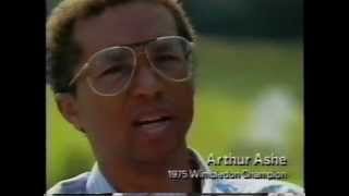 1989 - Tennis Great Arthur Ashe for Benefit Cereal