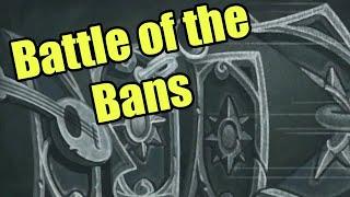 Hearthstone Tavern Brawl: Battle of the Bans