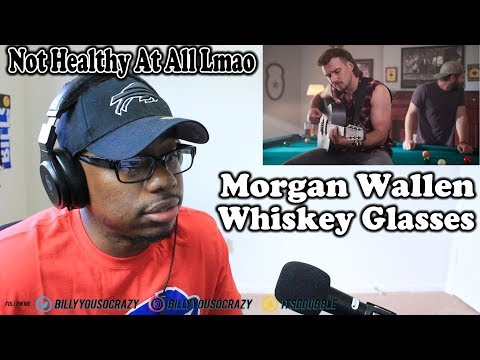 Morgan Wallen - Whiskey Glasses REACTION! THIS HOW YA DEAL WITH BREAKUPS?