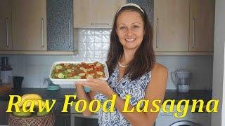 Raw Food Lasagna Recipe - Low Fat, Oil, Salt & Gluten Free