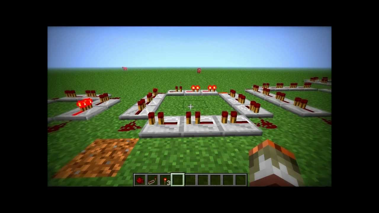 Minecraft Basic Circuits Repeater Youtube | #1 Wiring