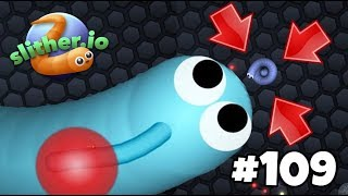 "INSANE KILLS & Crazy ""TRIP TRAPS!""! - Slither.io Gameplay Part 109"
