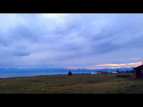 Закат в Монголии. Красота!