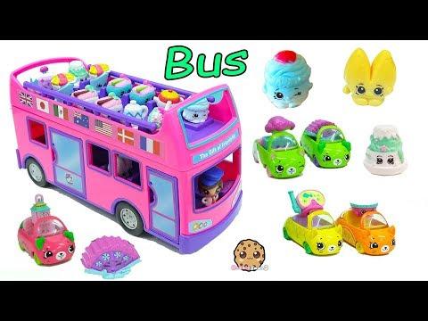 Surprise Blind Bag Season 8 Shopkins Ride The Gift Ems Double Decker Tour Bus Car