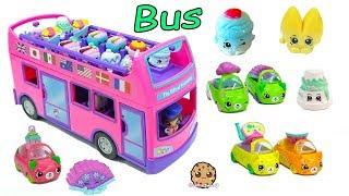 Surprise Blind Bag Season 8 Shopkins Ride The Gift 'ems Double Decker Tour Bus Car