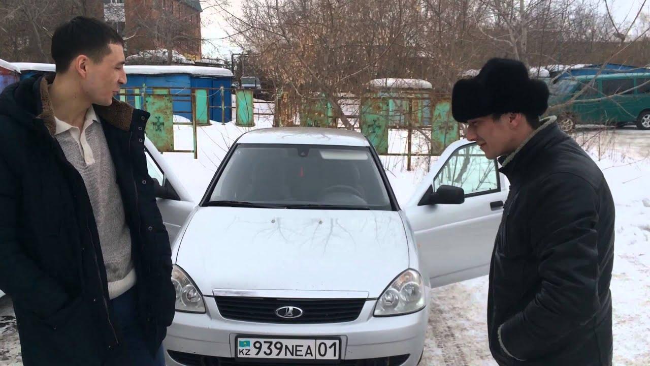 Lada Granta лифтбек уехала в Казахстан - YouTube