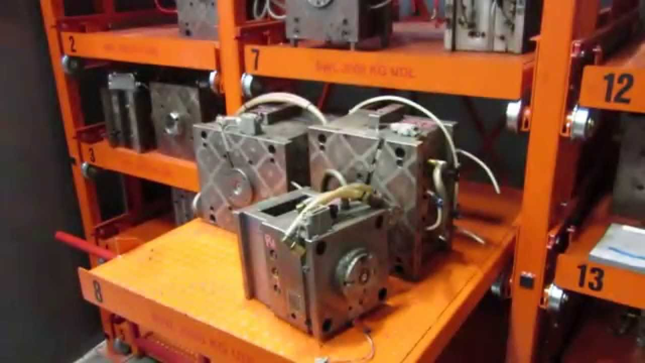 Mould Tool Pull Out Racking Sytem Youtube