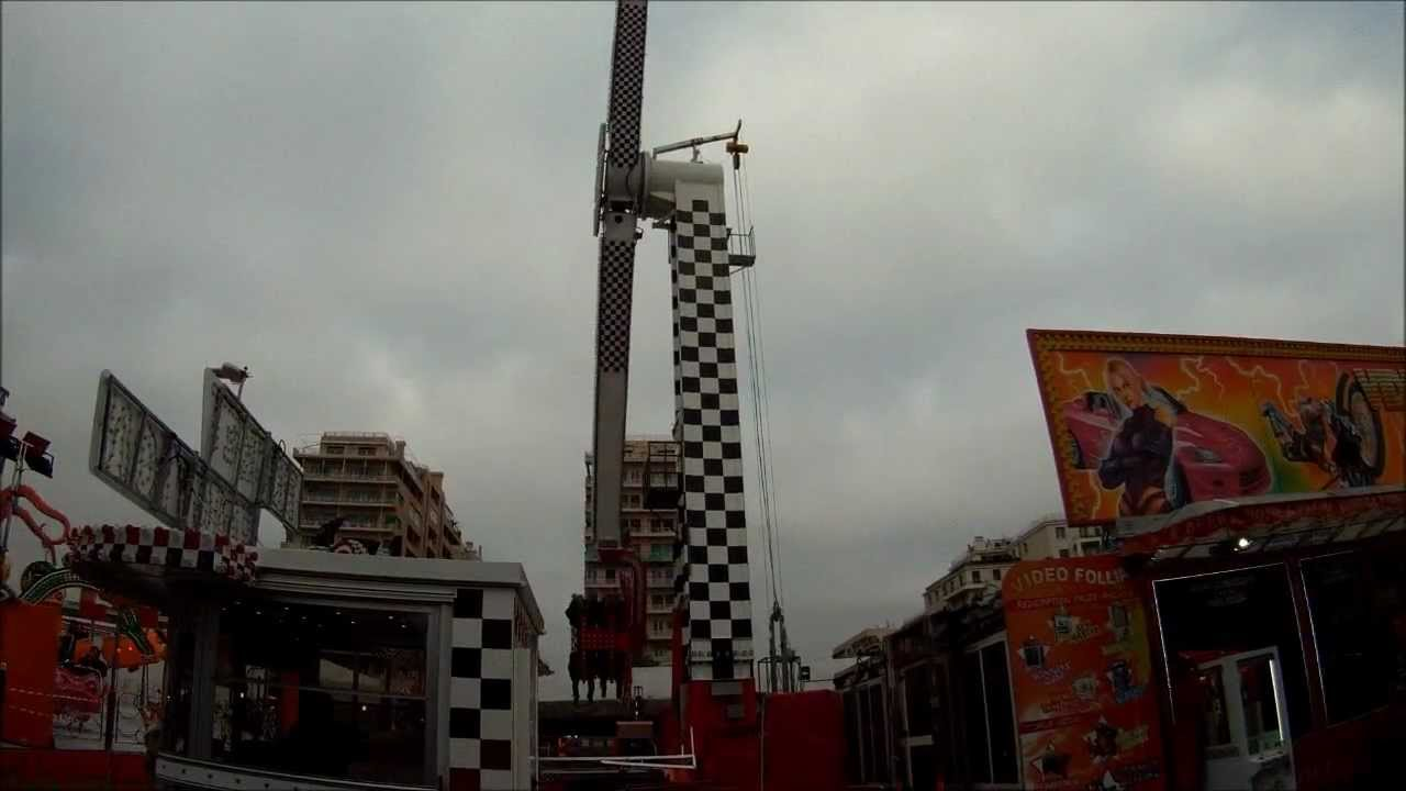 Genova 2013 luna park rocket youtube for Puerta 9 luna park