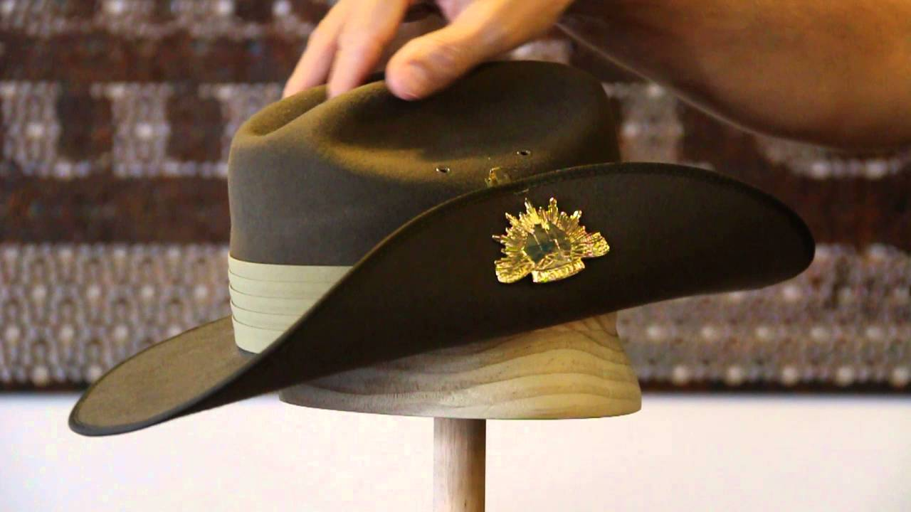 33c75f592a1 Akubra Military Khaki Hat Review- Hats By The Hundred - YouTube