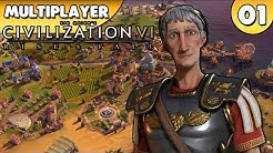 Civilization VI: Rise and Fall - Multiplayer 👑 #001 [Deutsch/German][Gameplay]
