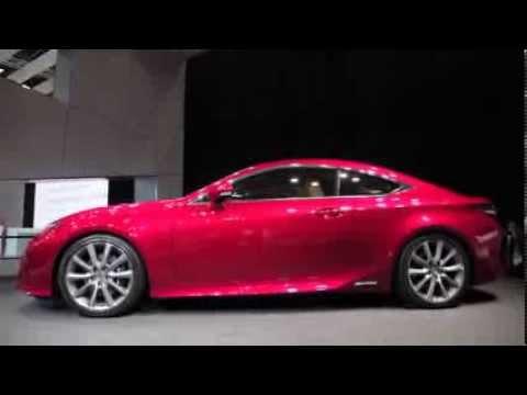 Lexus RC Coupe Revealed With V6 and Hybrid Power  AutoGuidecom News