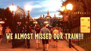 We Almost Missed the Last Train to Disneyland Paris!