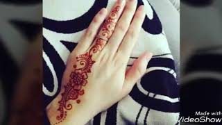 Top stylish and latest mehndi designs for girls 2018