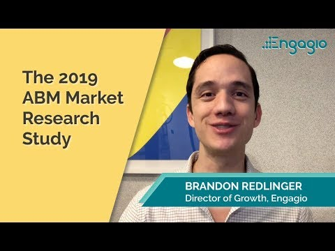 2019 ABM Market Research Study  |  Engagio