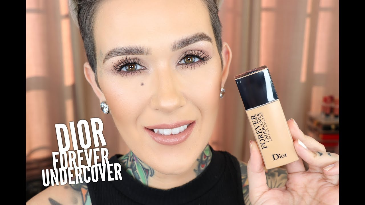 47d0393d1cc Dior Forever Undercover 24 Hr Foundation All Day Wear Test   First  Impressions