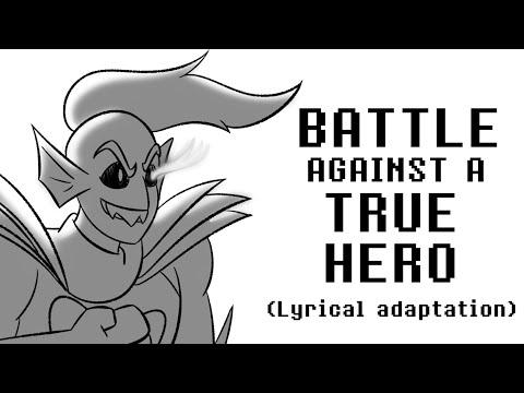 Undertale - Battle against a true hero (lyrical adaptation)