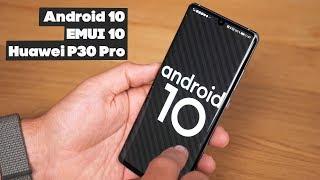 оБЗОР EMUI 10 на Huawei P30 Pro. При чем тут HarmonyOS?