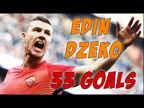 Edin DZEKO all 33 GOALS | AS ROMA history