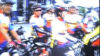 IPD Hilir Perak Police Cycle Ride - Hutan Melintang -  April 2014