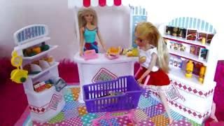 Супермаркет для Барби. Обзор. Мебель для Барби
