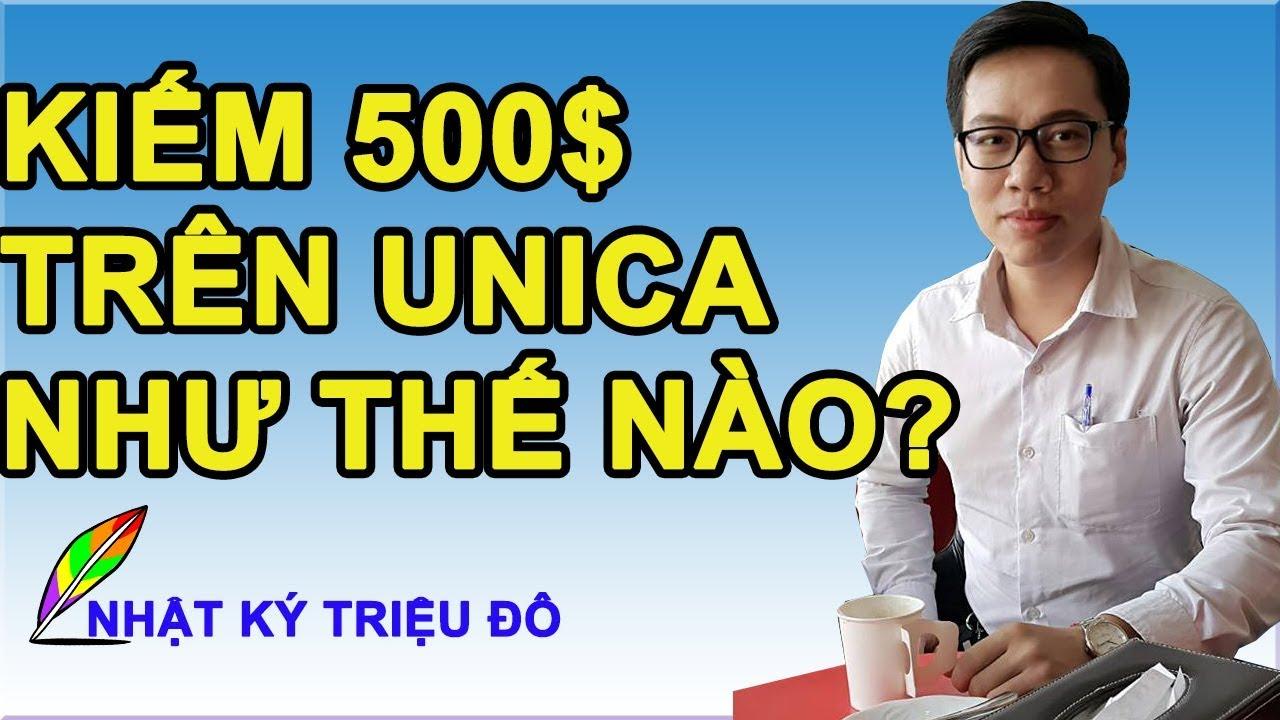 HƯỚNG DẪN kiếm 10 triệu/th trên Unica – Kinh doanh online với Affiliate Marketing   Nhật ký triệu đô