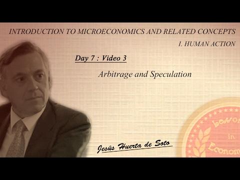 D7:V3 |  Arbitrage and Speculation
