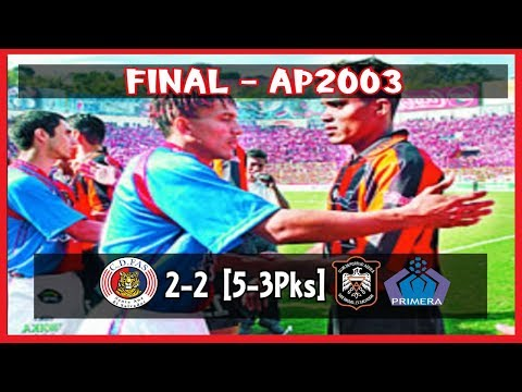 CD FAS [2] vs CD Aguila [2] [5-3 PKs] FULL GAME : Final ES Apertura 2003 : 12.21.2003