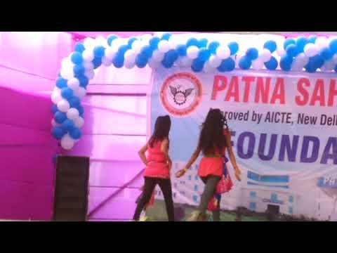 Sexy girl performance of Patna sahib group of college