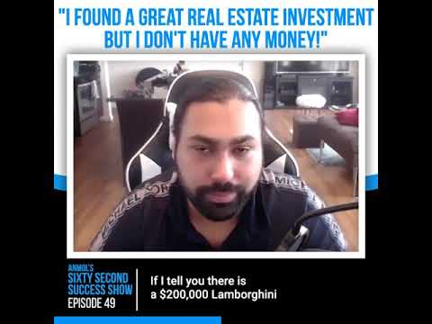 How to come up with Money for a Real Estate Investment