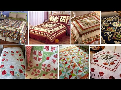 Download very very attractive free pattern quilt idea,patchwork bedsheet design, faliya Christmas block/Z art