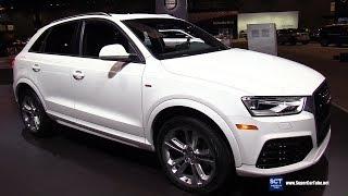 2018 Audi Q3 2.0T Quattro - Exterior and Interior Walkaround - 2018 Chicago Auto Show