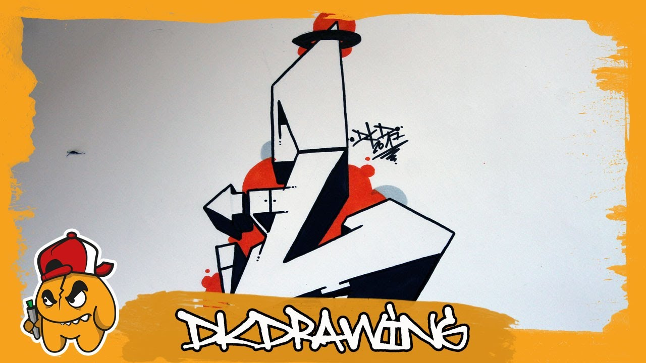 Graffiti alphabet tutorial how to draw graffiti letters - L alphabet en graffiti ...