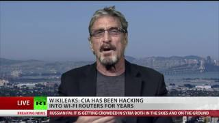 John McAfee: Every router in America has been compromised'