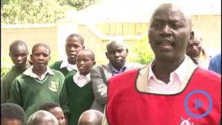 Forty two primary schools in West Pokot benefit from shoes to avert the jigger menace