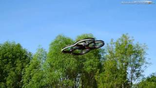 Hero RC XQ5 Drone Quadcopter Crash/Flight Demo