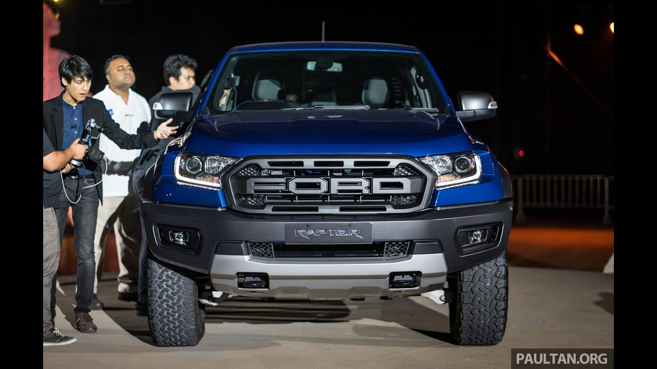 2018 Ford Ranger Raptor In Thailand Becomes The Most Off
