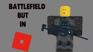 Battlefield, mas em Roblox