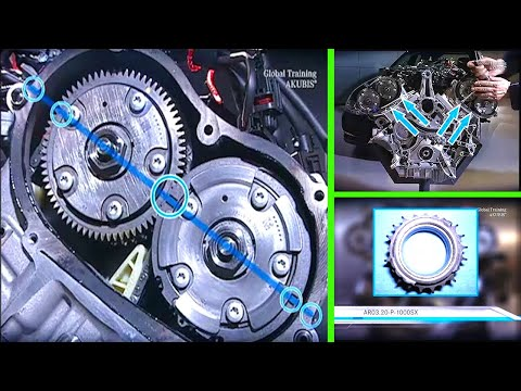 Timing marks mercedes benz ML 350 2006 | Doovi