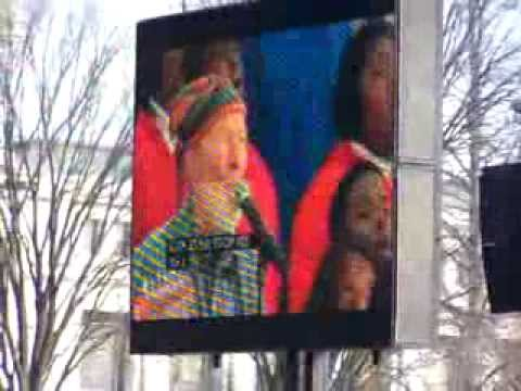 Pete Seeger at Obama Inauguration - This Land Is Your Land