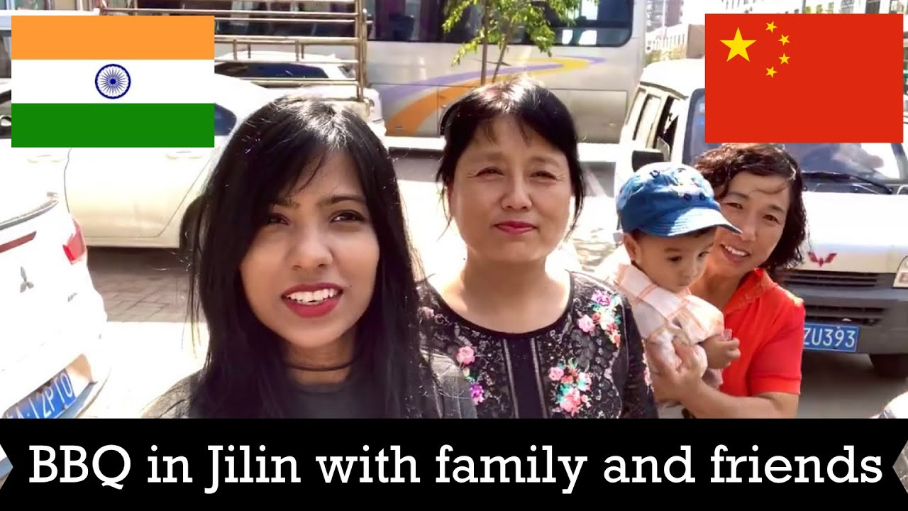 Jilin BBQ with family and friends | last day in Jilin