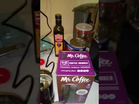 Mr Coffee Grinder (Model IDS57) With Flax Seeds