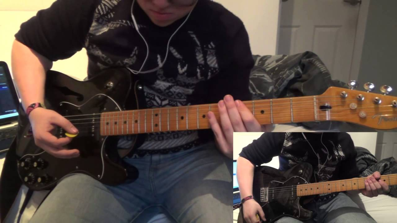 Decode Paramore Guitar Cover Hd Chords Youtube