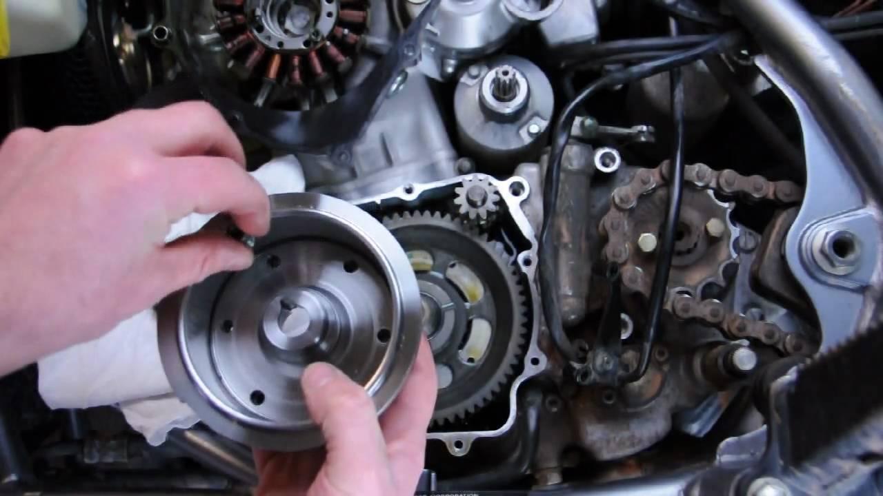 Trail Tech Z400 Flywheel Video Tutorial  YouTube
