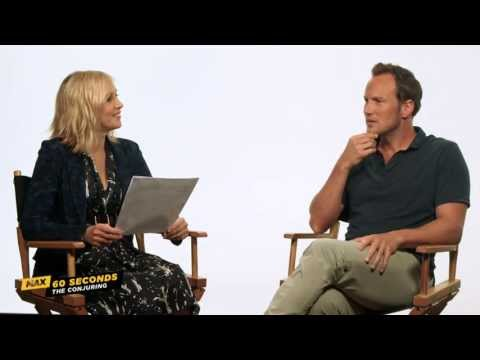 MAX 60 Seconds with The Conjuring's Patrick Wilson Cinemax