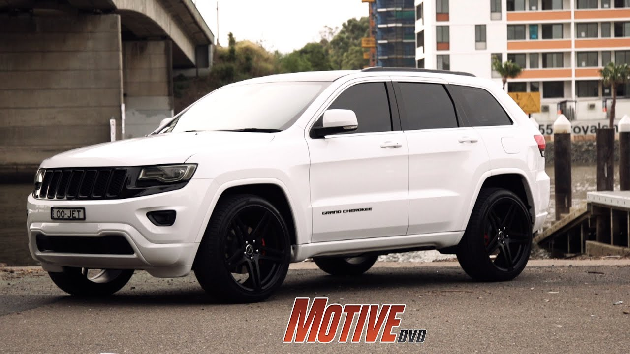 Jeep Grand Cherokee 2018 White >> PIMP MY WIFE'S RIDE - Murdered Out Jeep Grand Cherokee ...